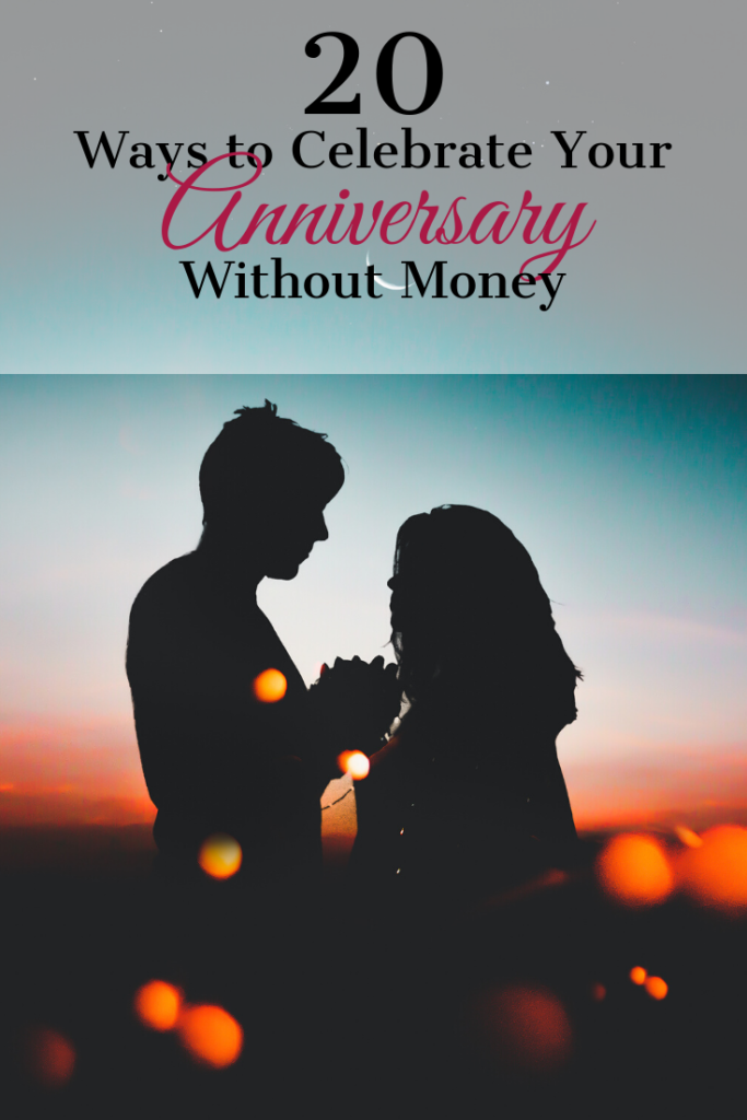 Ways to Celebrate Your Anniversary Without Money