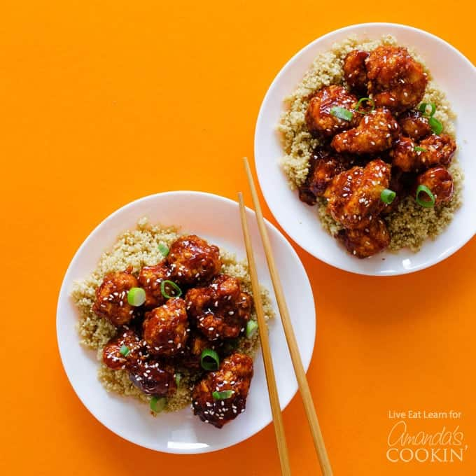 Chinese Takeout Recipe General Tso's Cauliflower