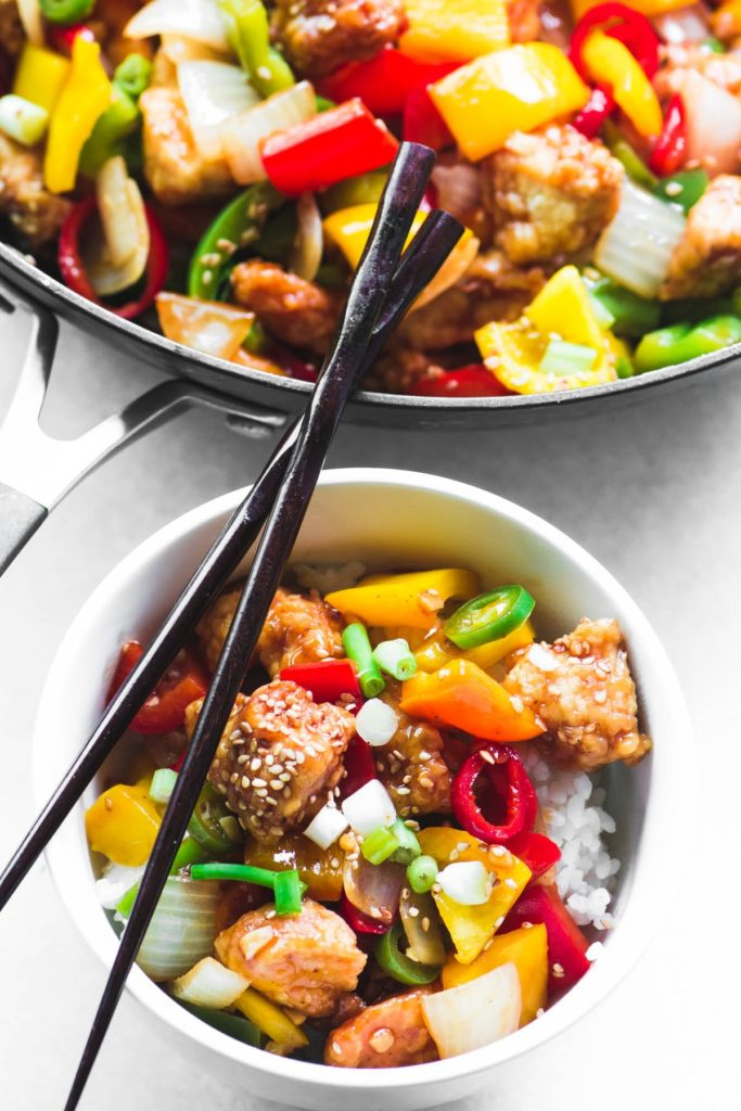 Chinese Takeout Recipe Firecracker Chicken