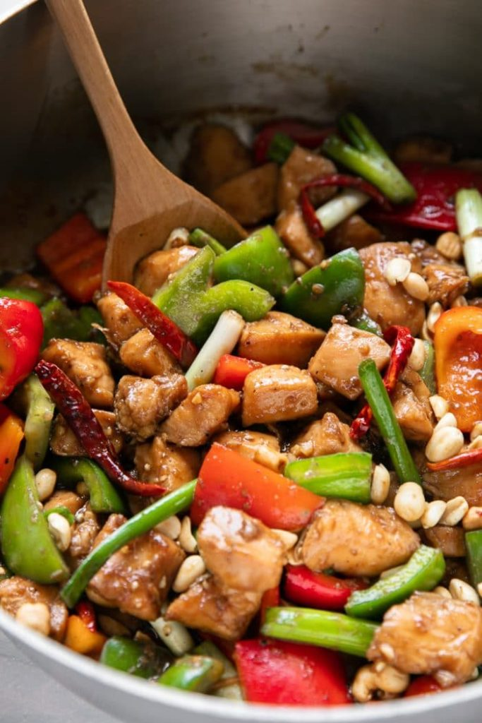Chinese Takeout Recipe Kung Pao Chicken